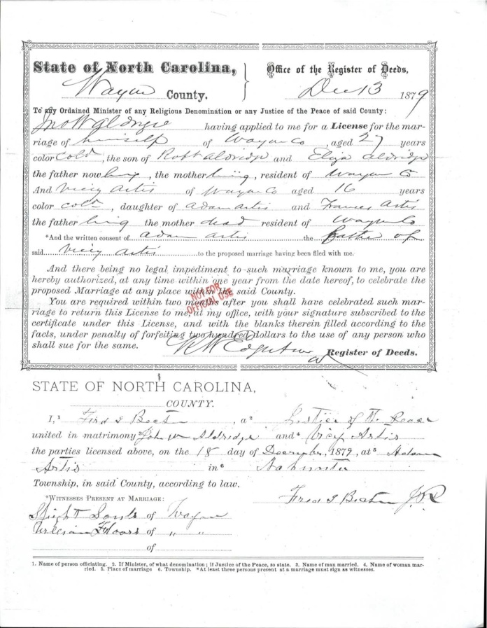 ALDRIDGE_--_John_Aldridge_Vicey_Artis_Marriage_License