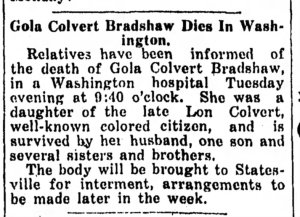 GC Bradshaw 7 23 1931