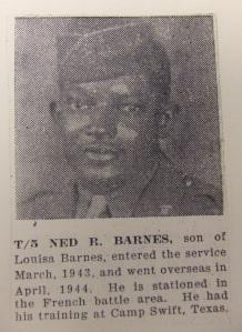BARNES -- T5 Ned Barnes