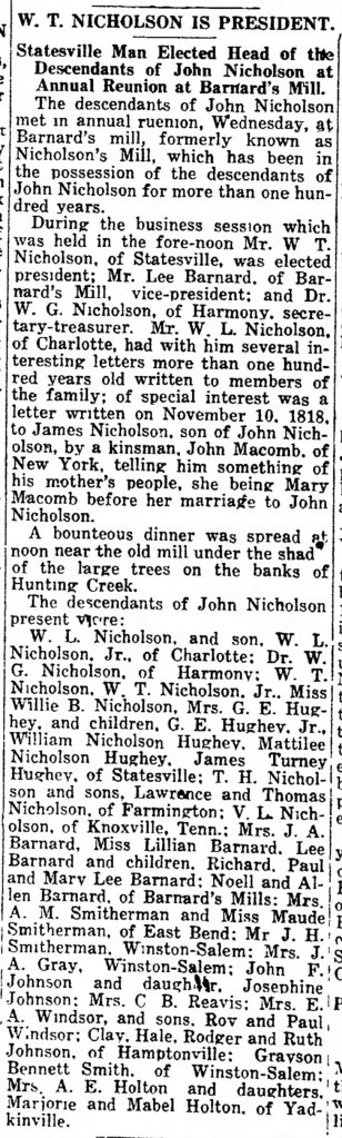 Nich Reunion 8 9 1923