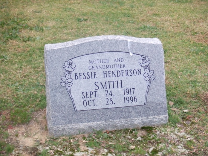 Bessie H Smith headstone