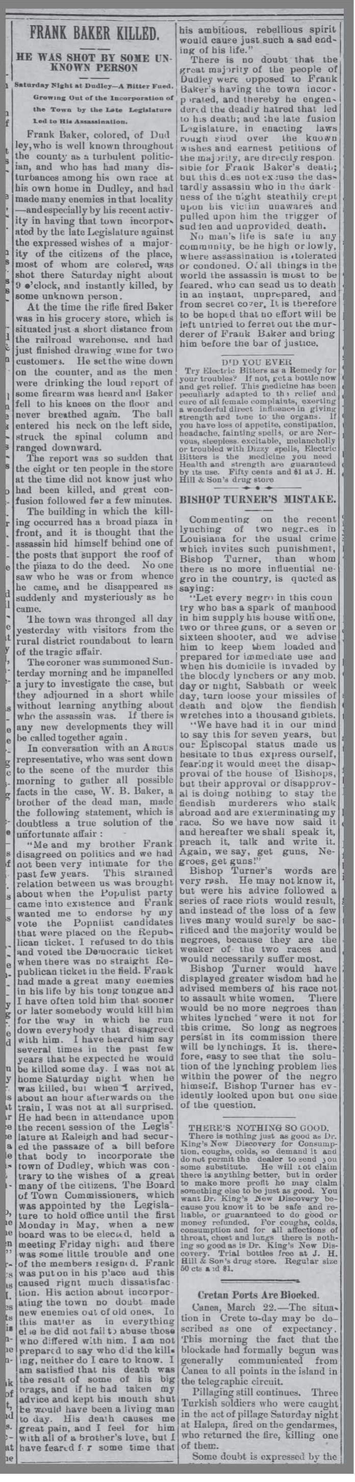 Gboro_Weekly_Argus_3_25_1897_Frank_Baker
