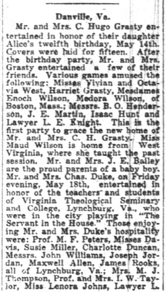Pitt Courier 6 2 1923 Maxwell Allen