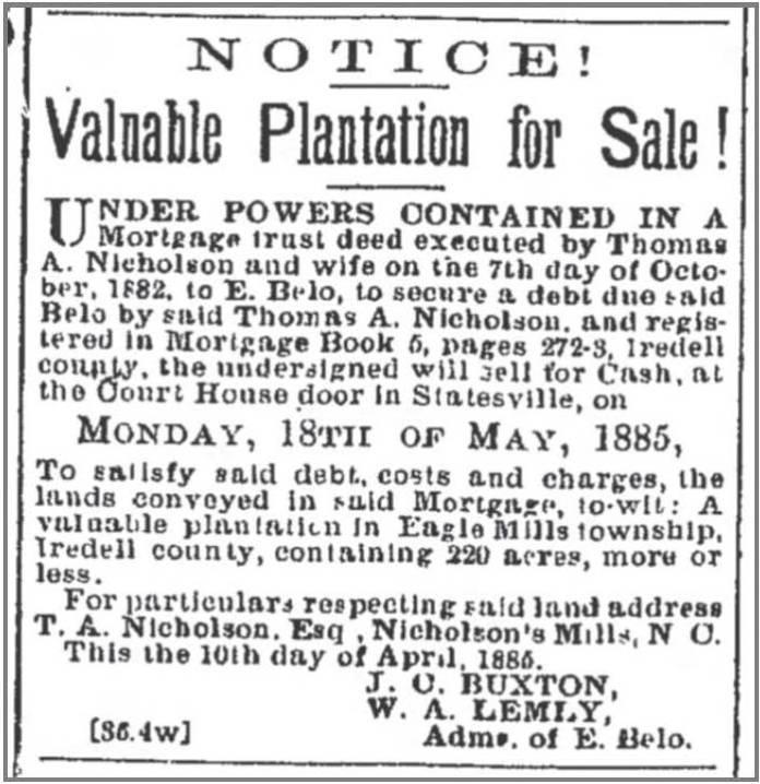 Rec_and_Landmark_4_17_1885_Nicholson_sale