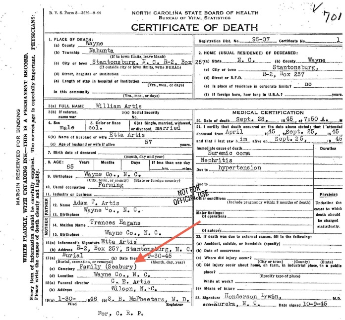 Wm_Artis_Death_Cert-1