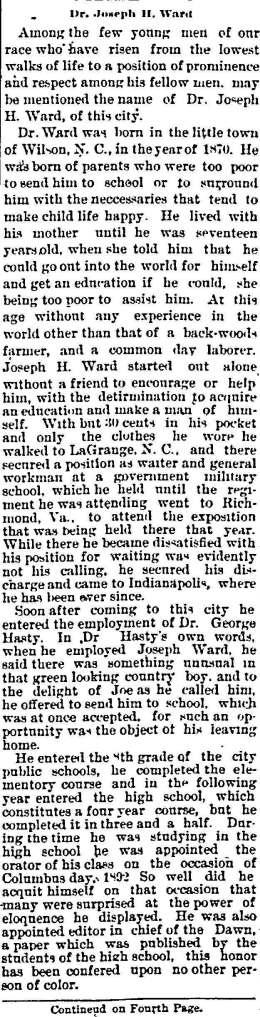 Joseph Ward early years 7 22 1899 Ind Freeman_Page_1