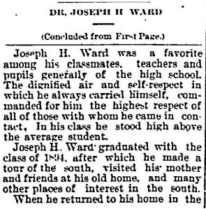Joseph Ward early years 7 22 1899 Ind Freeman_Page_2
