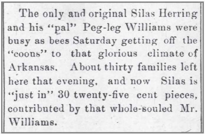 Goldsboro_Headlight_11_6_1889_Arkansas_migrants