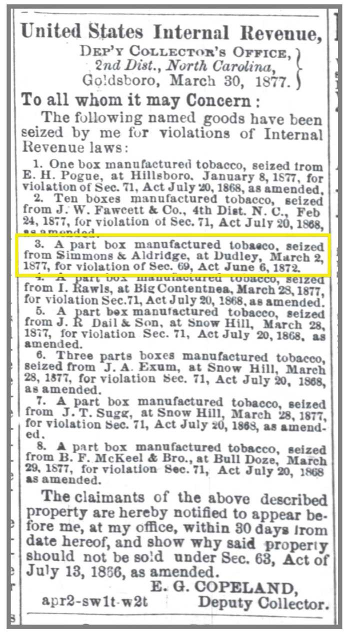 Gboro_Messenger_4_2_1877_tax_woes