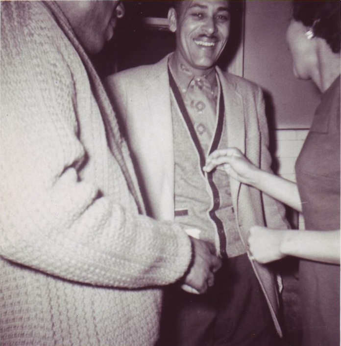John Holt laughing