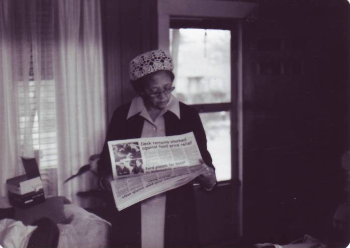 Margaret Allen newspaper