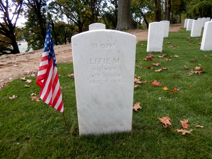 Effie Stanfield marker